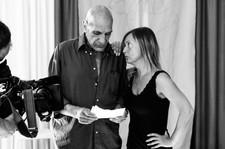 """Accademia della follia  Claudio Misculin con Marzia attrice dell'Accademia della follia nel Padiglione E dell'ex ospedale psichiatrico di Trieste. Claudio Misculin è un attore e regista teatrale, nel 76, nell'ambito dell'esperienza basagliana, fondò l'accademia. E' un'esperienza di teatro originale, formata da """"matti di mestiere e attori per vocazione"""". La compagnia ha prodotto più di 50 spettacoli, ha organizzato convegni e realizzato corto e lungometraggi, video e inchieste, le più importanti in collaborazione con RAI 3. Se il disagio sociale è denuncia di una vita impossibile, il teatro è un progetto anticorpo."""
