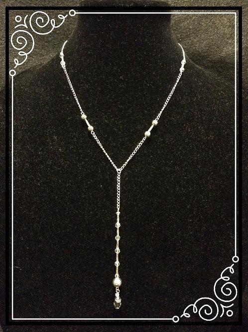 Swarovski Crystal Drop Lariat