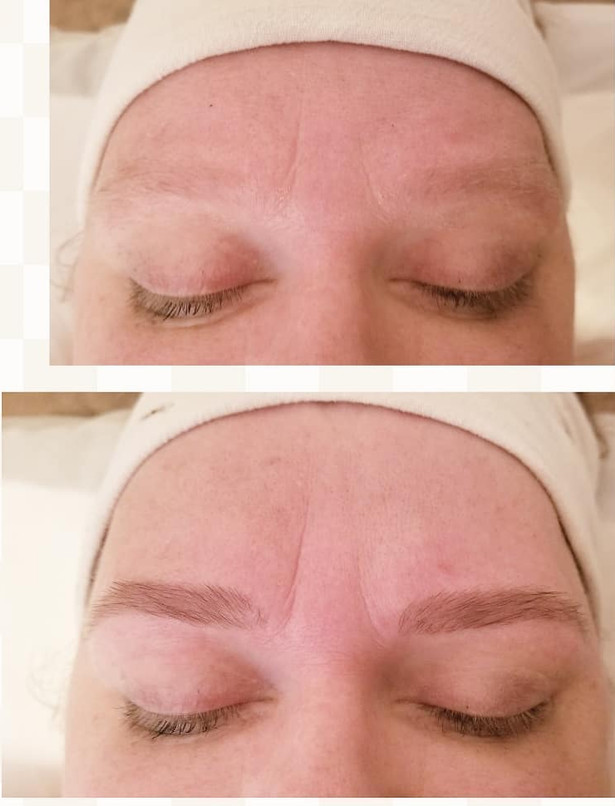 Before & After Brow Tint & Wax