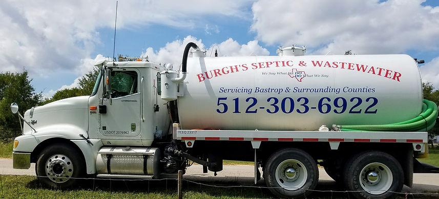 Burgh's Septic Pump Truck