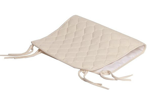 Quilted Sheet Saver Made with Organic Cotton Top Layer