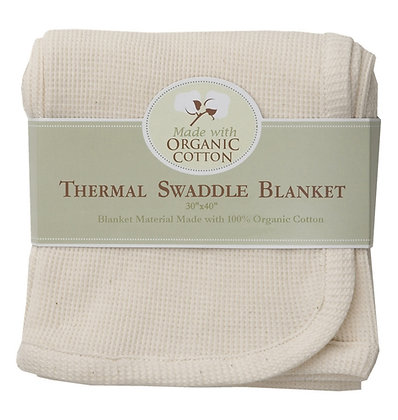 Thermal Blanket Made with Organic Cotton