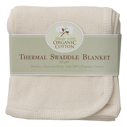 Thermal Swaddle Blanket Made with Organic Cotton