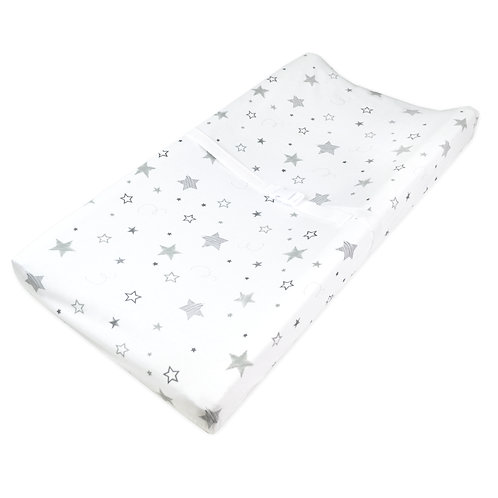 Printed Jersey Changing Pad Cover