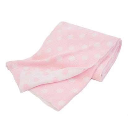 Cotton Sweater Knit Blanket