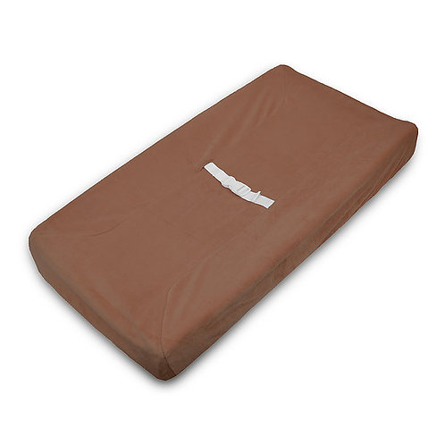 Contoured changing pad cover - Solid Colors