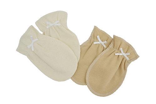 Newborn Mittens Made with Organic Cotton