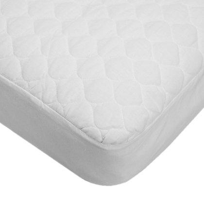 Waterproof Crib & Toddler Bed Mattress Pad Cover