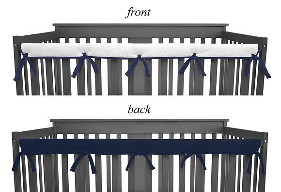 Reversible Crib Rail Covers
