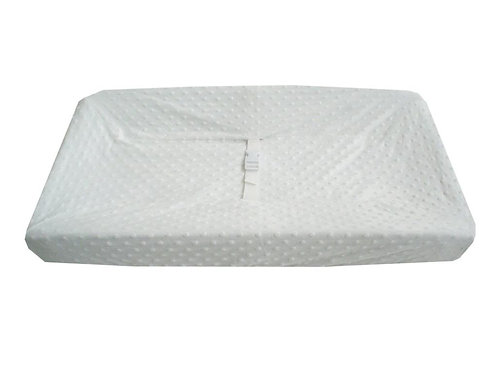 Minky Dot Contoured Changing Pad Covers