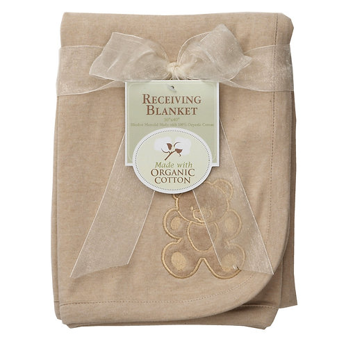 Receiving Blanket Made with Organic Cotton