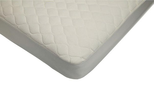 Quilted Mattress Pad Covers Made with Organic Cotton Top Layer