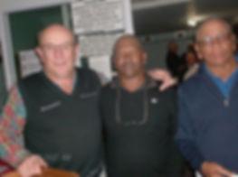 B  Steyn ( Capt) , K  Karelse & A Brown.