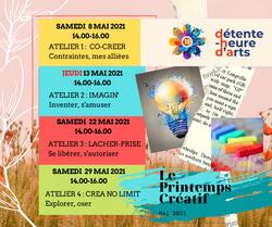 Le Printemps Créatif - mai 2021 - FB