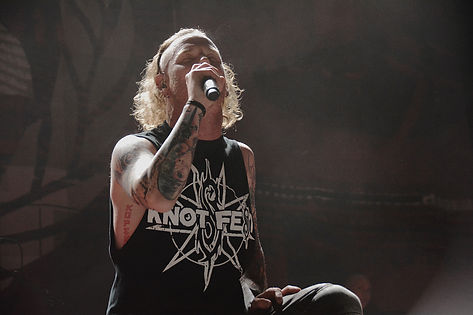 Slipknot/Stone SourのCorey Taylorがコロナウイルスに感染。(追記:Coreyからの現状報告あり)