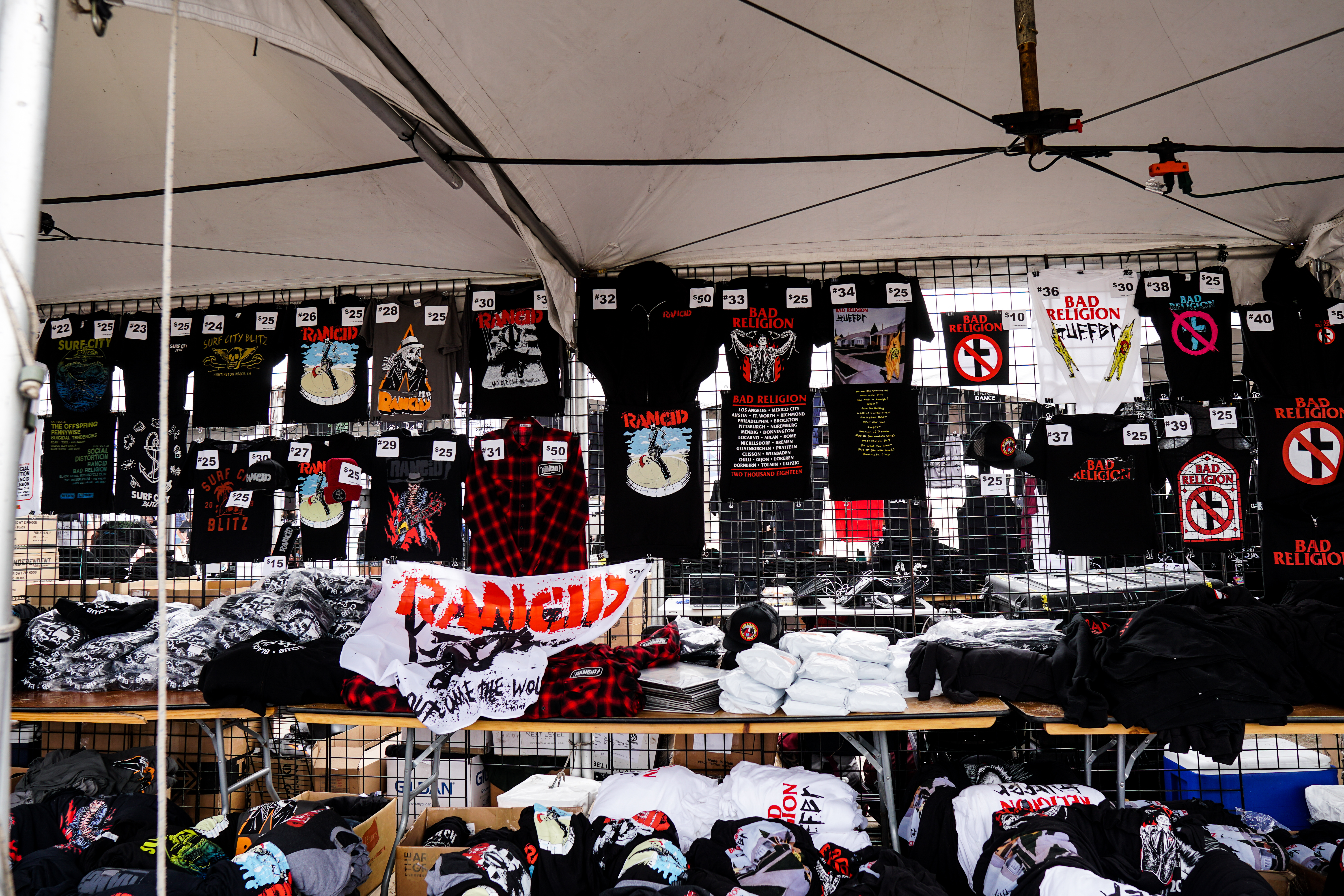 The Merch Table for Rancid
