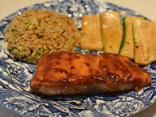 第11回:We Came As Romans; Dave Stephens 料理名:Miso Glazed Salmon with Julienned Zuccini and Fried Rice
