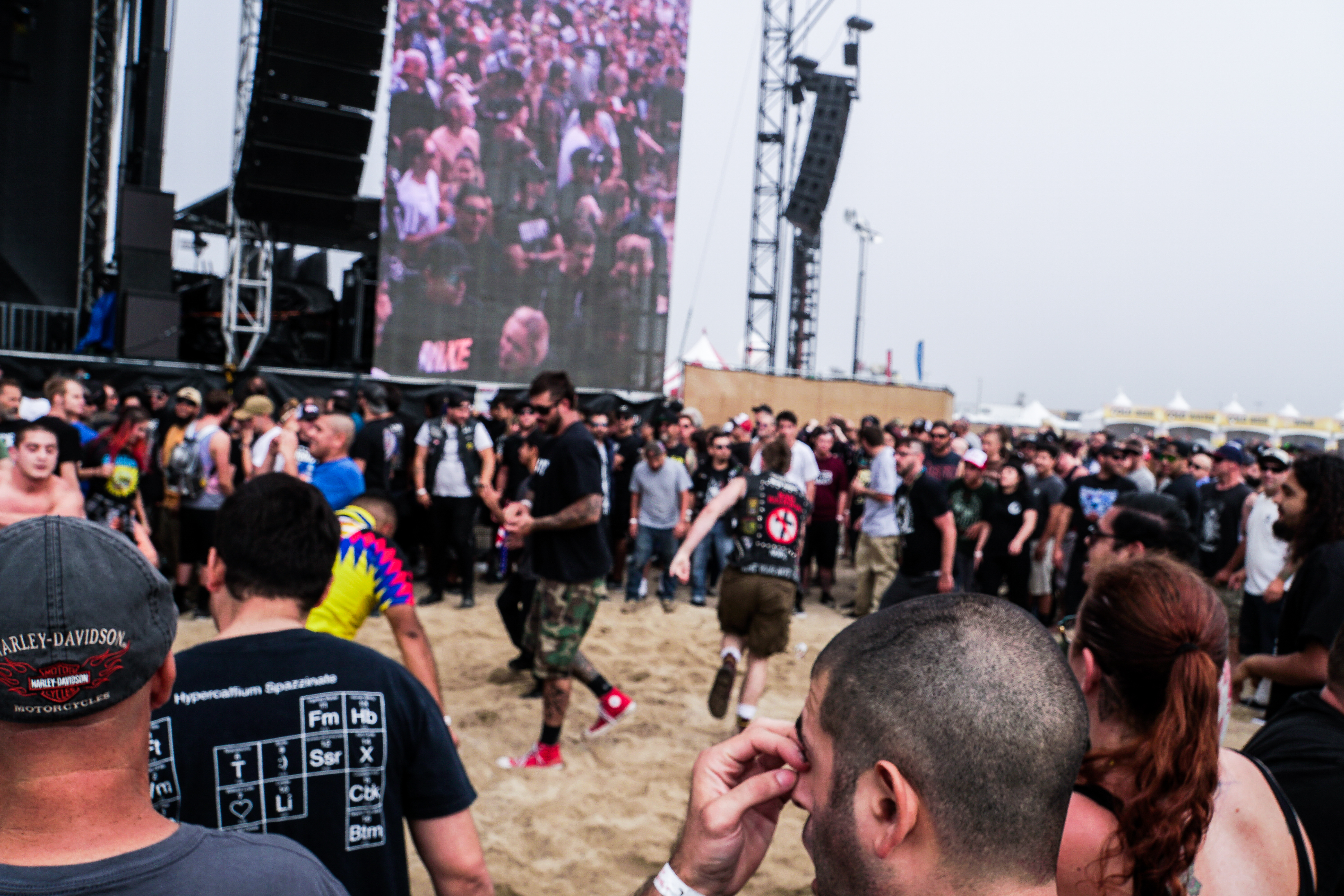 in The MOSH PIT