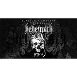 Behemoth U.S. Tour 2016