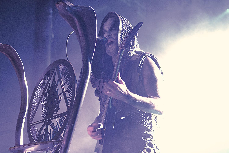 最新作The Satanist全曲ライブがスタート