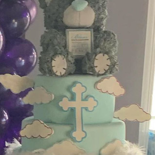 Teddy Cake #sugarcakesco #sugarcakes #ba
