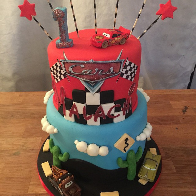 Cars Cake #sugarcakesco #sugarcakes #cak