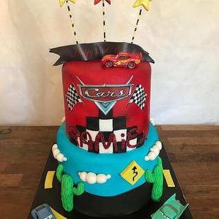 Cars Cake #sugarcakesco #sugarcakes #cak
