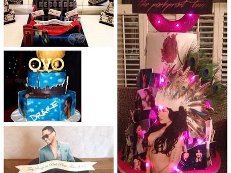 Drake, Nicki Minaji, Cash Money & Trey Songs Cakes For There London O2 Tours