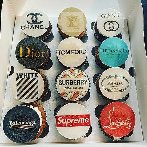Designer Cupcakes Box of 12