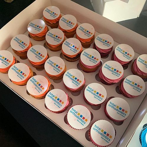 Logo Cupcakes 2D Box of 24