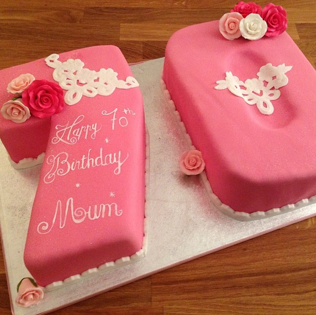 70 Cake #sugarcakes #sugarcakesco #cakes