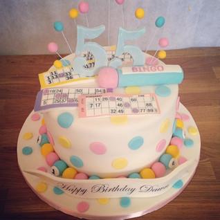 Bingo Cake #sugarcakesco #sugarcakes #ca