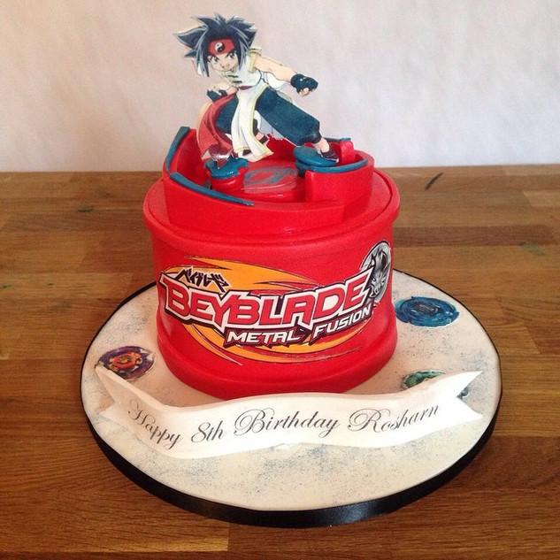 Bey blade cake #sugarcakesco #cakes #cak