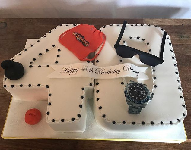 40 number cake #sugarcakesco #sugarcakes