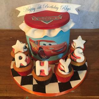 Cars Combination Cake #sugarcakesco #sug