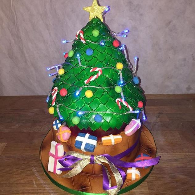 Christmas Tree #christmastreecake #chris