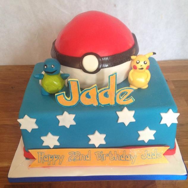 Pokemon cake #sugarcakesco #sugarcakes #