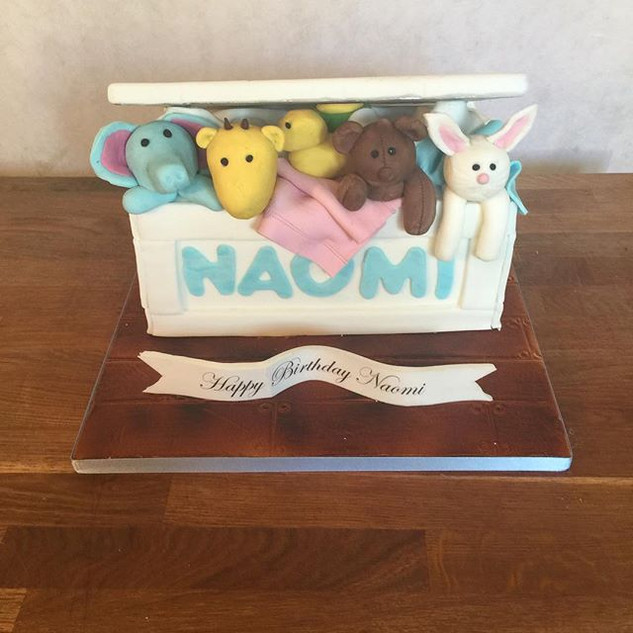 Toy Box Cake #sugarcakesco #sugarcakes #
