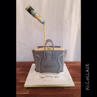 Celine bag cake #sugarcakes #sugarcakesc