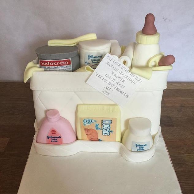Baby Bag Cake #sugarcakesco #sugarcakes