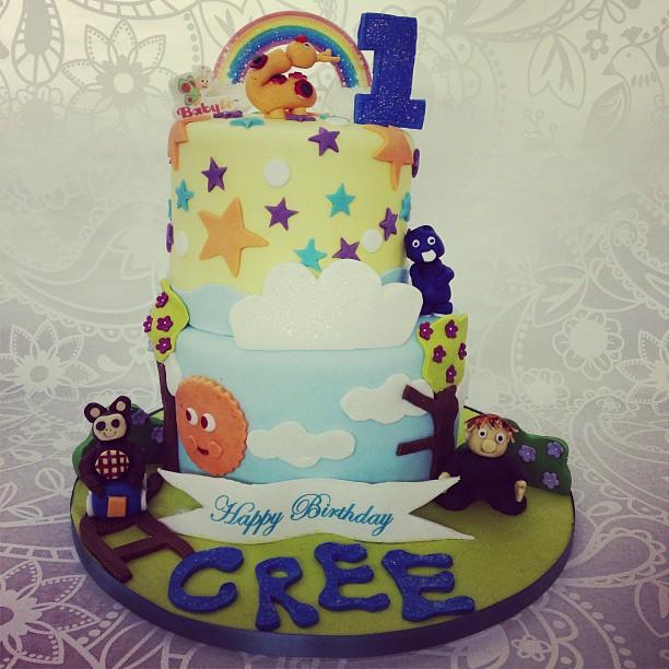 Baby Birthday Cake Photos