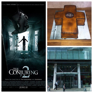 The Conjuring cake for the film for Warn
