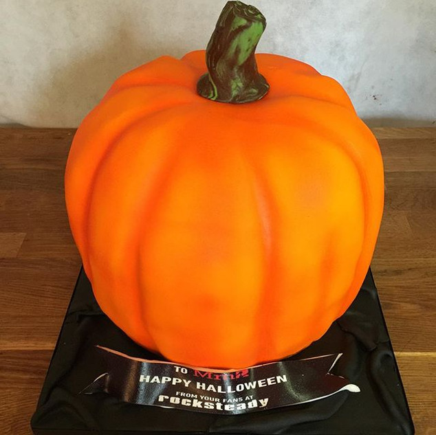 Pumpkin Haloween cake ordered by _rockst