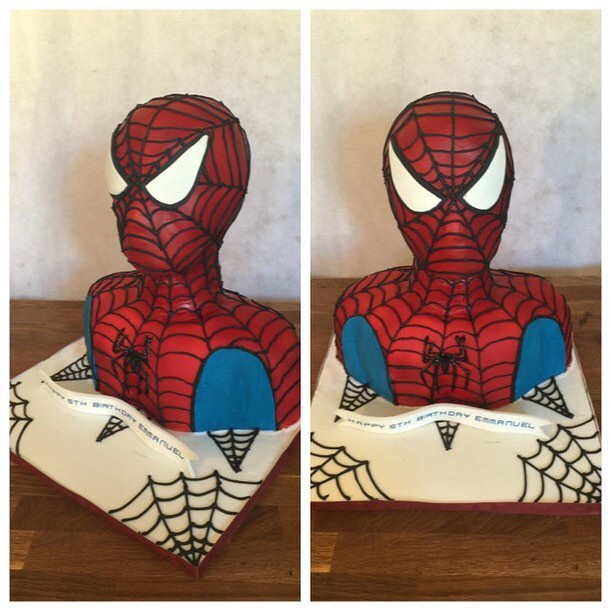 3D Spider-Man #sugarcakesco #sugarcakes