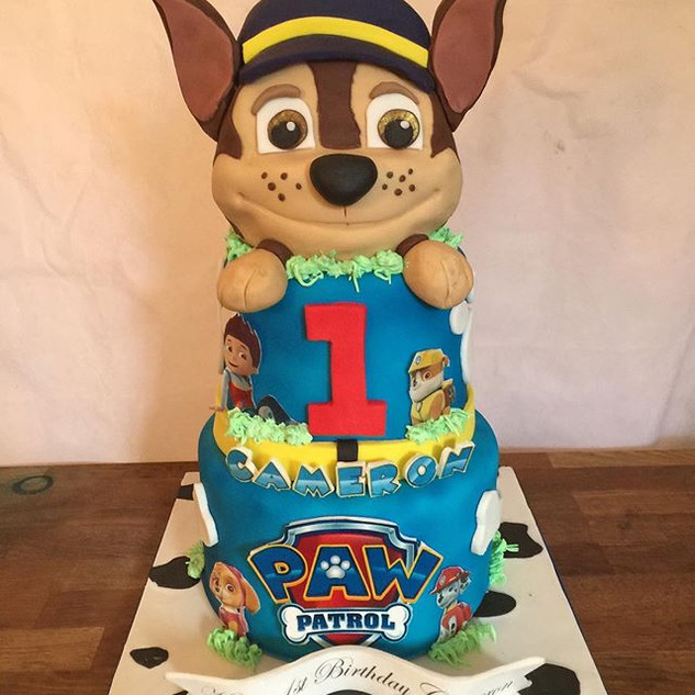 Paw Patrol all cake #sugarcakes #sugarca