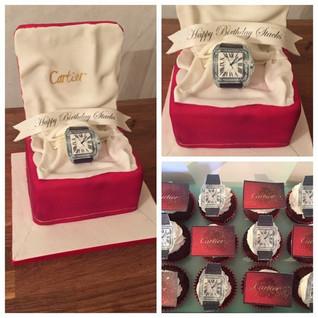 Cartier Watch #sugarcakesco #sugarcakes