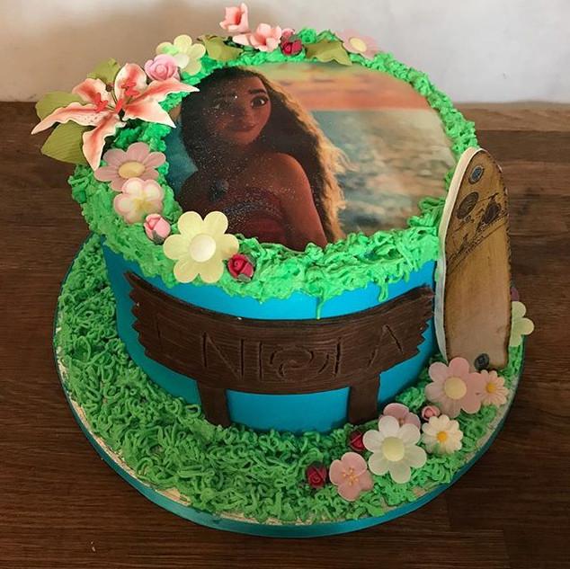 Moana Cake #sugarcakesco #sugarcakes #mo