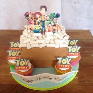 Toy Story Cake #sugarcakesco #sugarcakes
