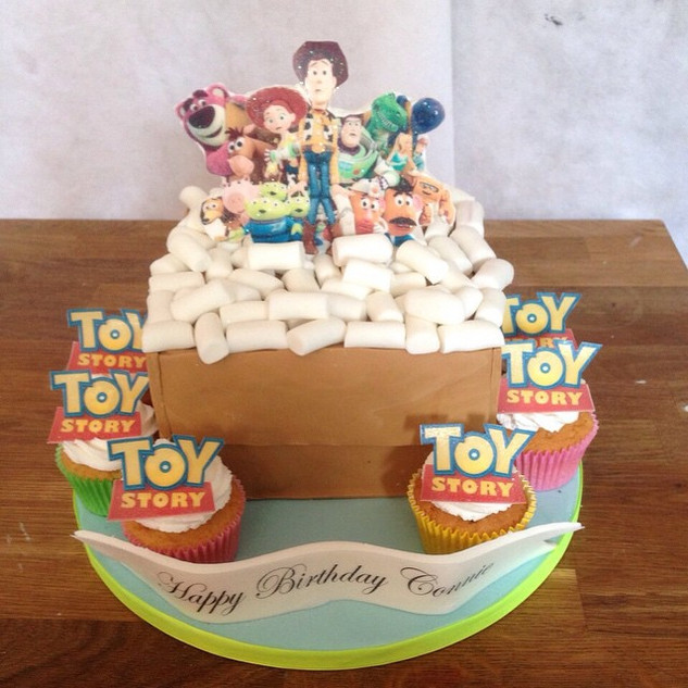 Toy Story Cake #sugarcakesco #sugarcakes