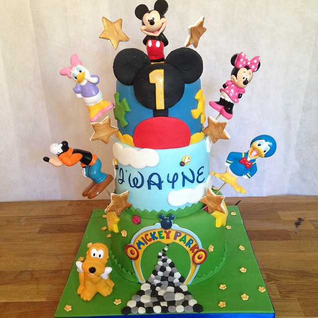 Mickeymouse clubhouse cake #sugarcakesco